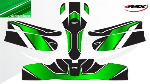 FURY green Superchrome