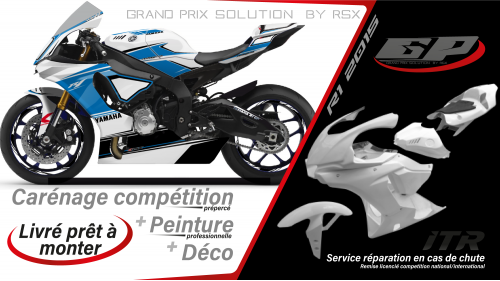 GRAND PRIX PACK YAMAHA R1 2020 RACE WHITE