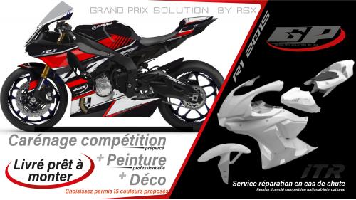 GRAND PRIX PACK YAMAHA R1 2015-19 RAIDER BLACK