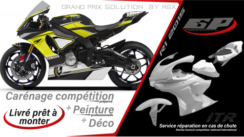 GRAND PRIX PACK YAMAHA R1 2015-19 RACE BLACK