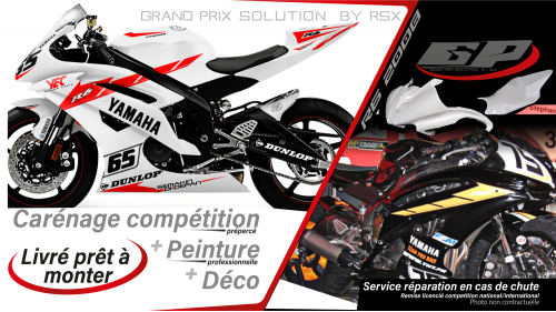 GRAND PRIX PACK YAMAHA 2008 et + PRACTICE WHITE