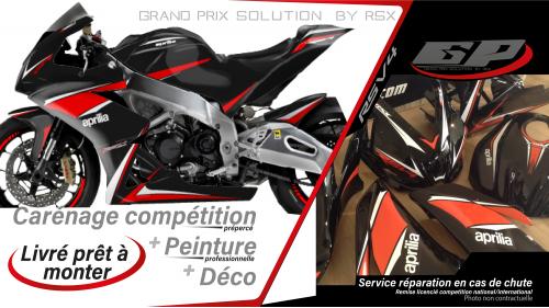 GRAND PRIX PACK APRILIA RSV4-2009 ET +PRACTICE BLACK