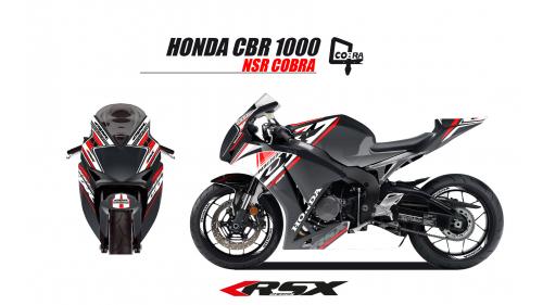 HONDA CBR1000 2017 et + COBRA