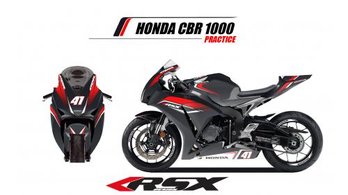 HONDA CBR1000 2017 et + PRACTICE-NO