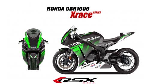 HONDA CBR1000 2017 et + XRACE-NO
