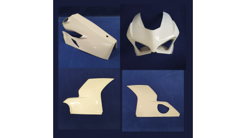 Full poly racing fairing Panigale V4 2018-2020