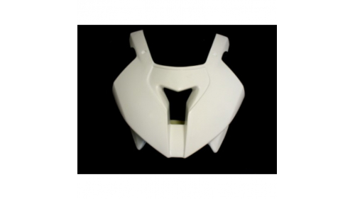 Small fiberglass racing fork crown for S1000RR 09-11.