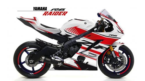 YAMAHA R6 2017 RACE-BL
