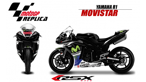 YAMAHA R1 2009-2014 MOVISTAR99-NO