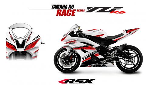 YAMAHA R6 2008 AND +