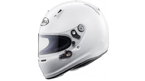 SK6 ARAI Helmet White