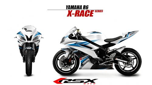 YAMAHA R6 2008 et + XRACE-BL
