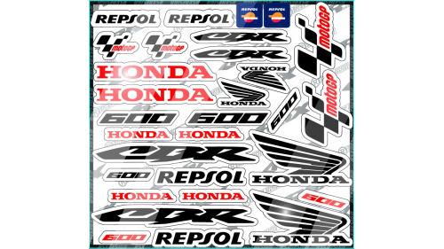 BMW S1000rr Sticker kit