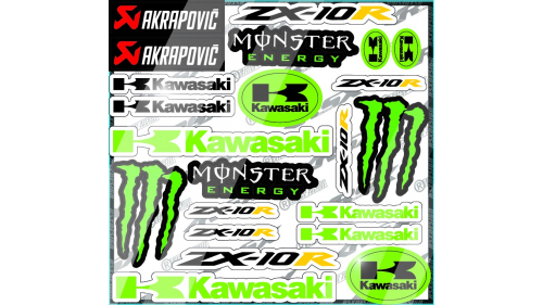 Honda CBR600 Sticker kit