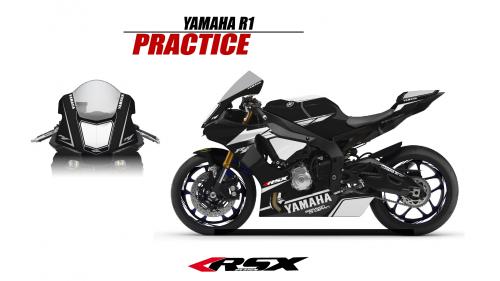 YAMAHA R1 2015 PRACTICE