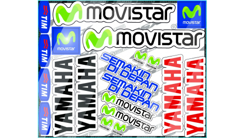 YAMAHA R1 Sticker kit