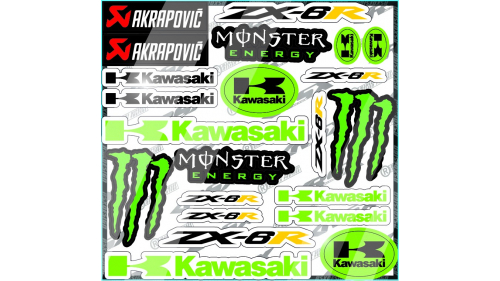 YAMAHA R6 Sticker kit