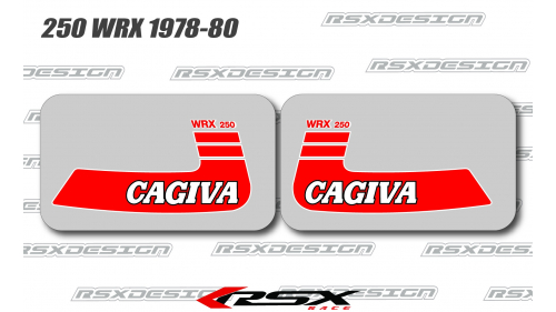 CAGIVA 125-250 WMX 1980-82 fuel tank