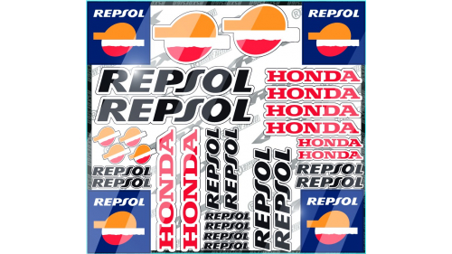 KTM RC8 Sticker kit