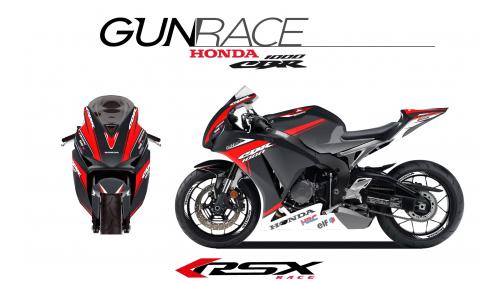 HONDA CBR1000 2012 et + GUNRACE-NO