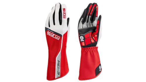Gloves SPARCO KG-3 Track Red
