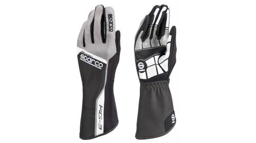 SPARCO KG-3 Track Gloves Black