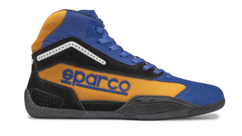 Bottines SPARCO KB-4 Gamma Bleue/Orange