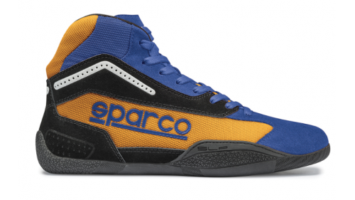 SPARCO KB-4 Gamma Blue / Orange Boots