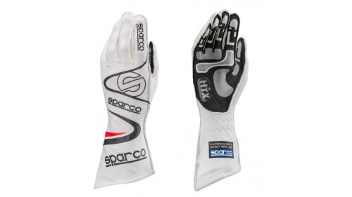SPARCO Arrow KG-7 Pilot Gloves - White