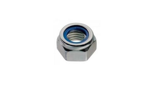 Nut Ø 6 mm self-locking nylstop