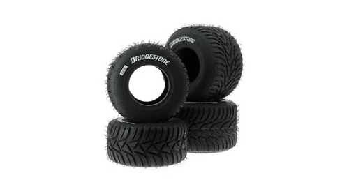 Tires Kart Bridgestone YNP (rain) - National category - FFSA approval 2017 to 2019