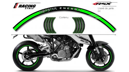 MONSTER Wheel stripes