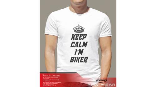 KeepCalm I'm biker Tshirt