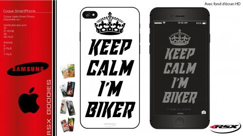 Keep calm I'm biker SmartPhone cover