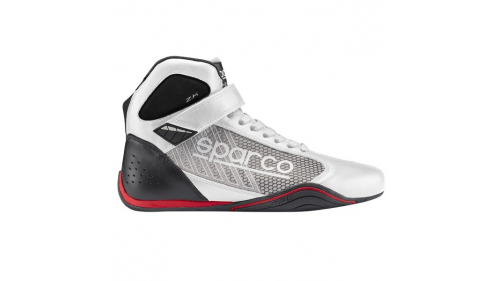 BOOTS SPARCO OMEGA KB-6 WHITE/SILVER