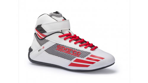 Bottines SPARCO KB-3 Mercury blanches