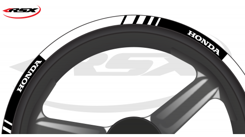 HONDA Wheel stripes