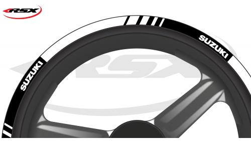 SUZUKI Wheel stripes