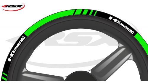KAWASAKI Wheel stripes