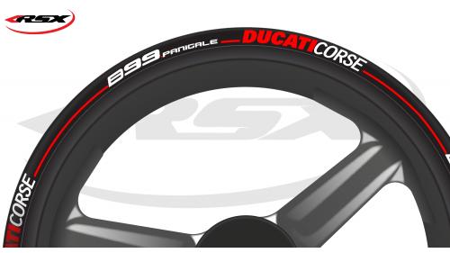 DUCATI Wheel stripes