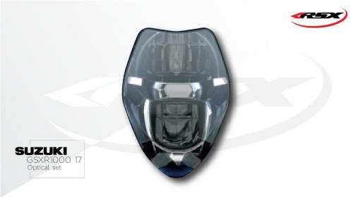 675 Daytona Optical set