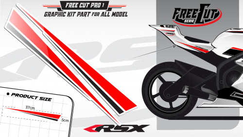 Rear F1 Graphic kit