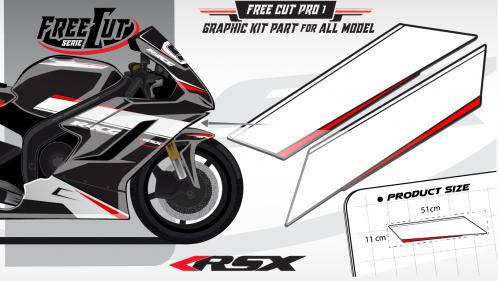 Flank F1 Graphic kit