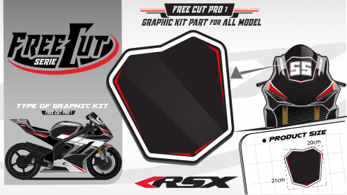 Bul F1 Graphic kit