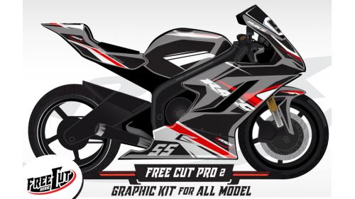 F2 Graphic kit FreeCut
