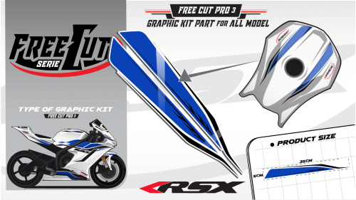 Fuel tank F3 Graphic kit