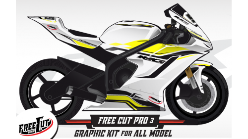 F1 Graphic kit FreeCut