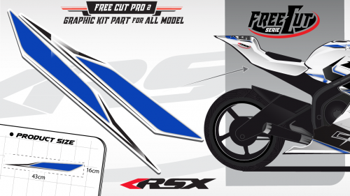 Rear seat F4 Graphic kit