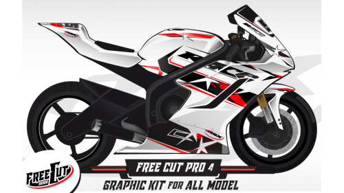 F4 Graphic kit FreeCut