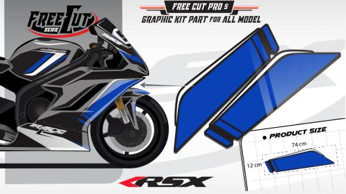 Flank F5 black Graphic kit